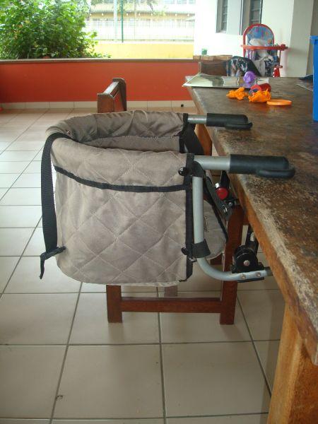 Kourou toulouse - Chaise bebe a fixer sur la table ...